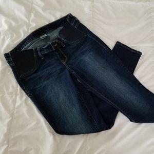 Old Navy side panel maternity skinny jeans